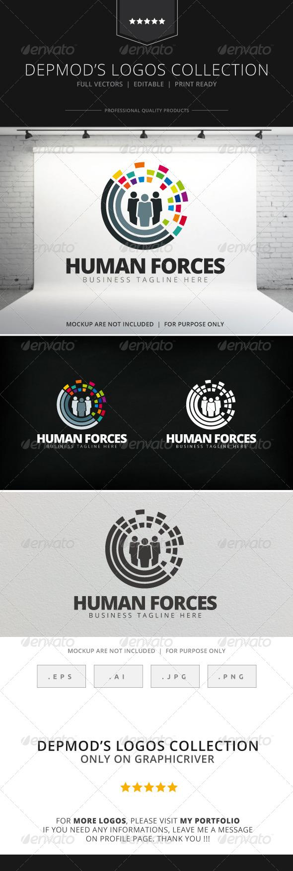 Human Forces Logo