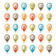 Set of Smiley Icons, Mapping Pins - GraphicRiver Item for Sale