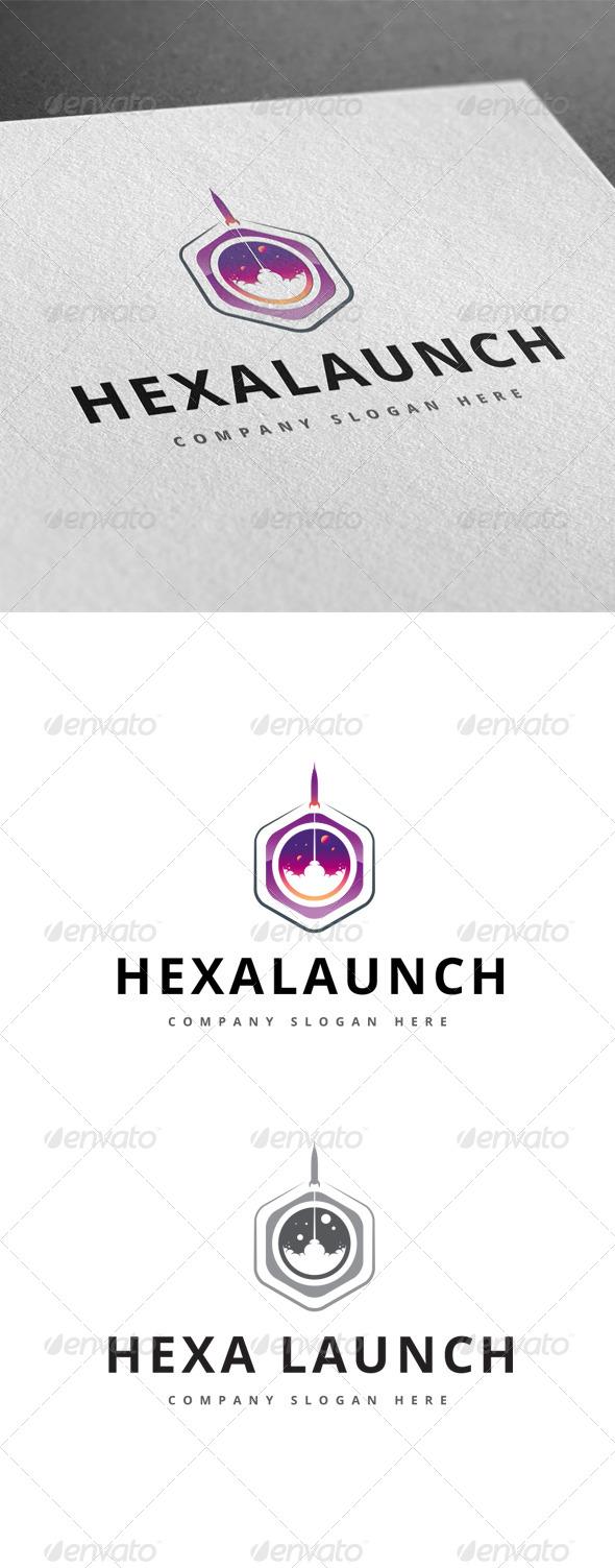 Hexa Launch Logo