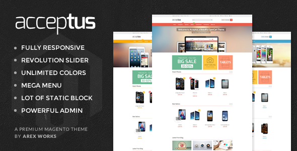 AM Acceptus - Successfully Store Magento Theme