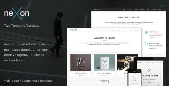 NeXon - Multi-Purpose Creative Muse Template