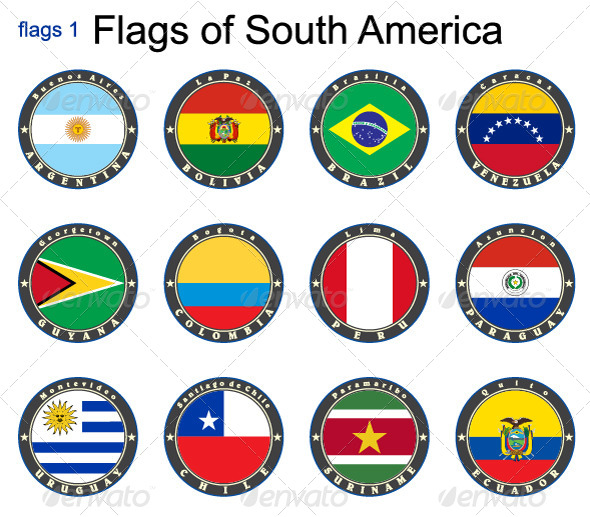 World Flags South America