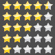 Rating Stars - GraphicRiver Item for Sale