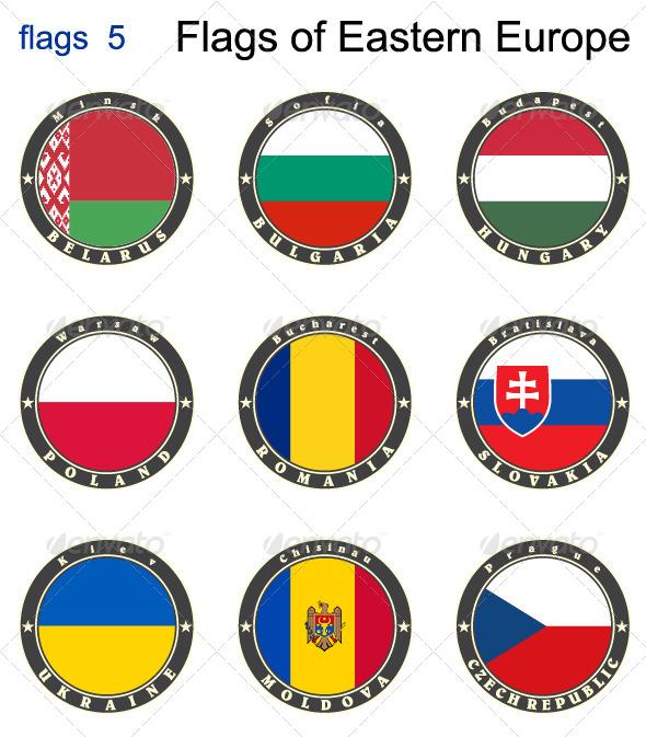 Flags of Eastern Europe