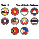Flags of South-East Asia - GraphicRiver Item for Sale
