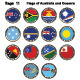 Flags of Australia and Oceania - GraphicRiver Item for Sale