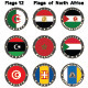 World Flags North Africa - GraphicRiver Item for Sale