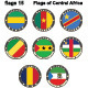 World Flags Central Africa - GraphicRiver Item for Sale