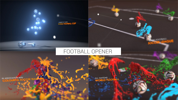 Colourful Football Opener