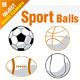 Sport Balls Set - GraphicRiver Item for Sale