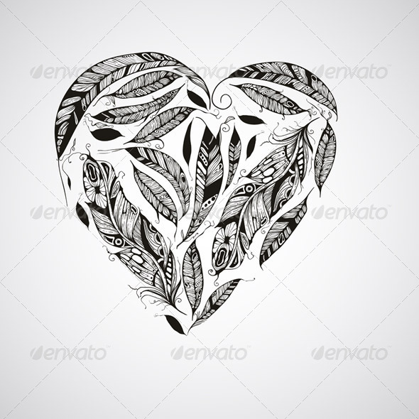 Heart Made of Feathers