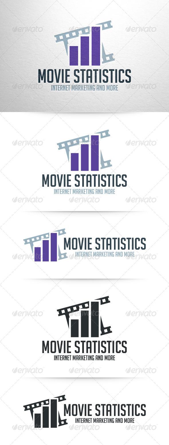Movie Statistics Logo Template