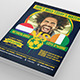 Brazil Today's Match 2014 Flyer - GraphicRiver Item for Sale