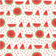 Seamless Pattern of Watermelons - GraphicRiver Item for Sale