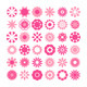 Set of Flower Icons - GraphicRiver Item for Sale