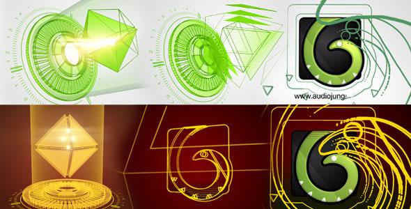 Hedra Hologram Reveal Logo