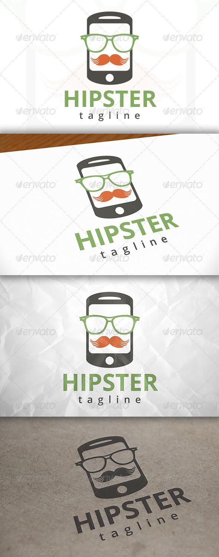 Hipster Phone Logo