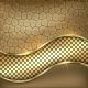 Metallic Gold Leather Decorative Background - GraphicRiver Item for Sale