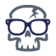 Geek Skull - GraphicRiver Item for Sale