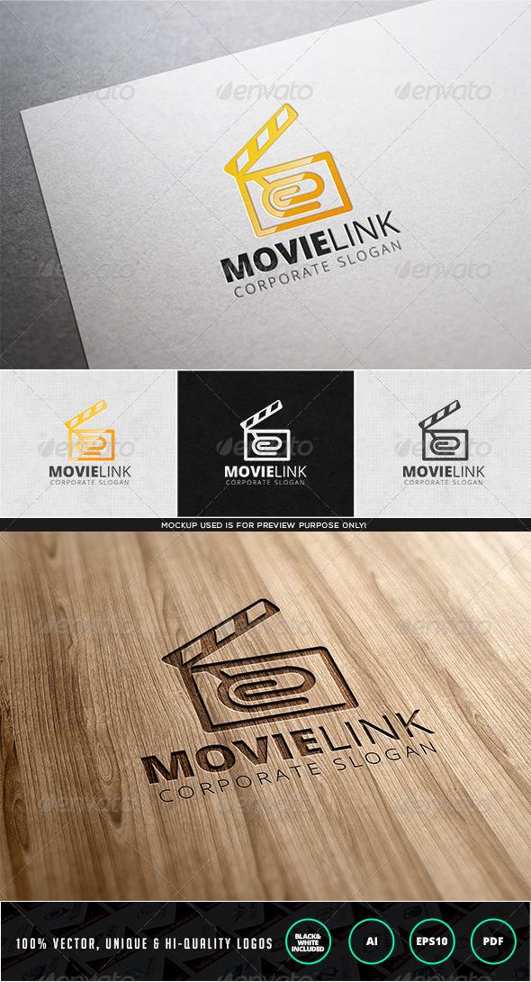 Movie Link Logo Template