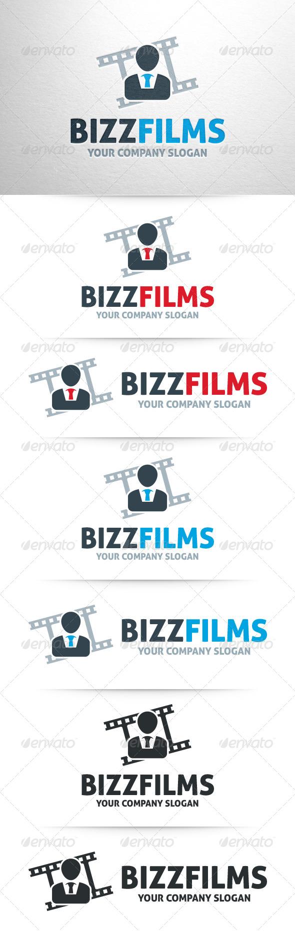 Business Films Logo Template