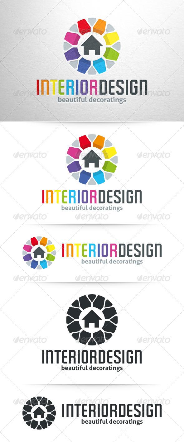 Interior Design Logo Template