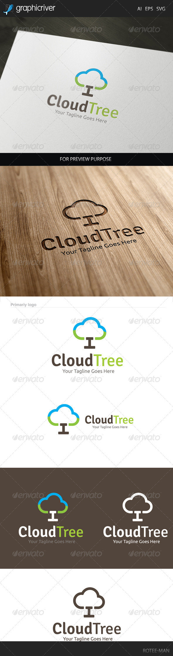Cloud Tree Logo