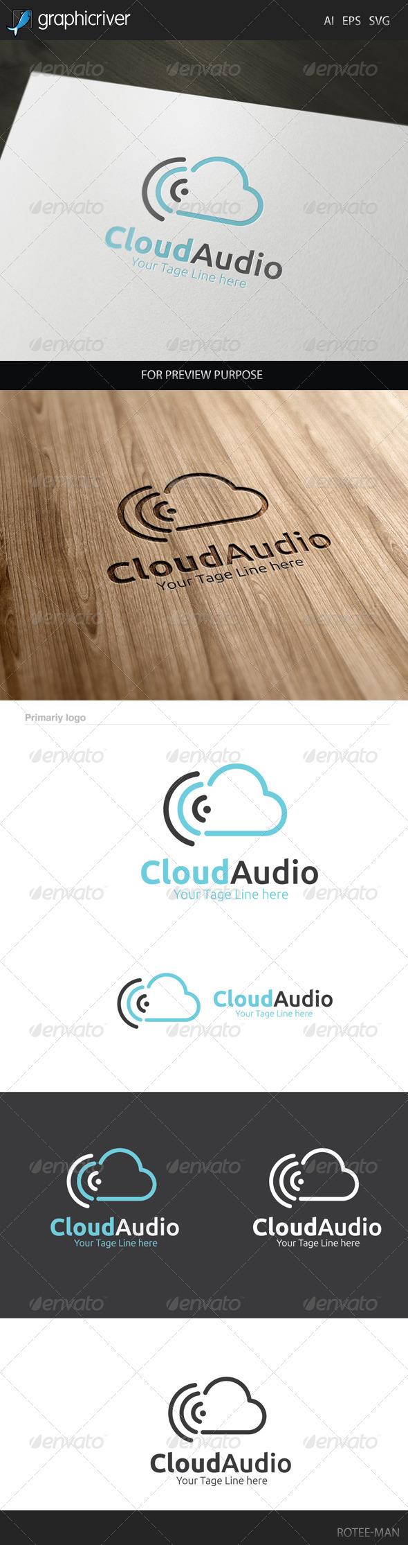 Cloud Audio Logo