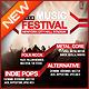 Music Concert Flyer Volume 2 - GraphicRiver Item for Sale