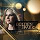 Golden Sparks - VideoHive Item for Sale