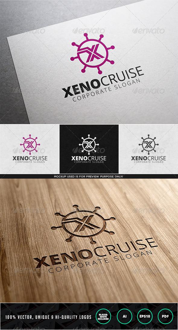 Xeno Cruise Logo Template