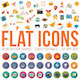 Flat Icons - GraphicRiver Item for Sale
