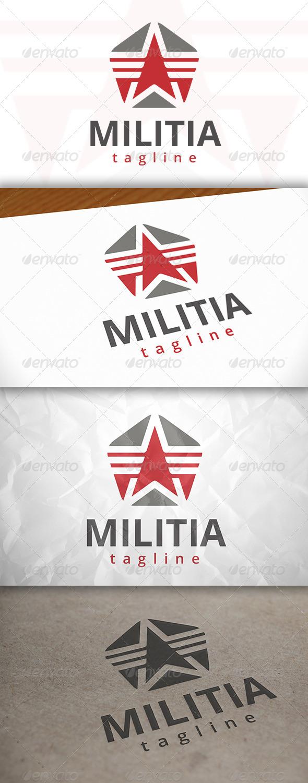 Military Star Logo