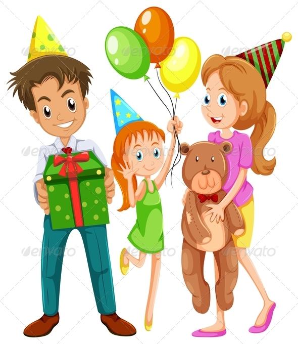 Family at Birthday