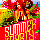 Summer Flyer Template PSD - GraphicRiver Item for Sale