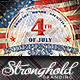 Download Vintage 4th of July Event Flyer Template from GraphicRiver