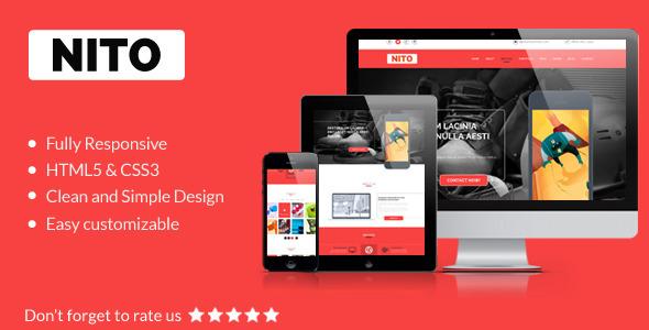 Nito - Multipurpose OnePage Portfolio Template