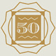Art Deco Style Wedding Anniversary Cards v1 - GraphicRiver Item for Sale