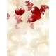 Valentine`s Day Card with Hearts - GraphicRiver Item for Sale