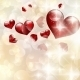 Abstract Bokeh Bright Heart Background - GraphicRiver Item for Sale