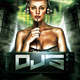Electro/Deep House Special Guest Dj - GraphicRiver Item for Sale