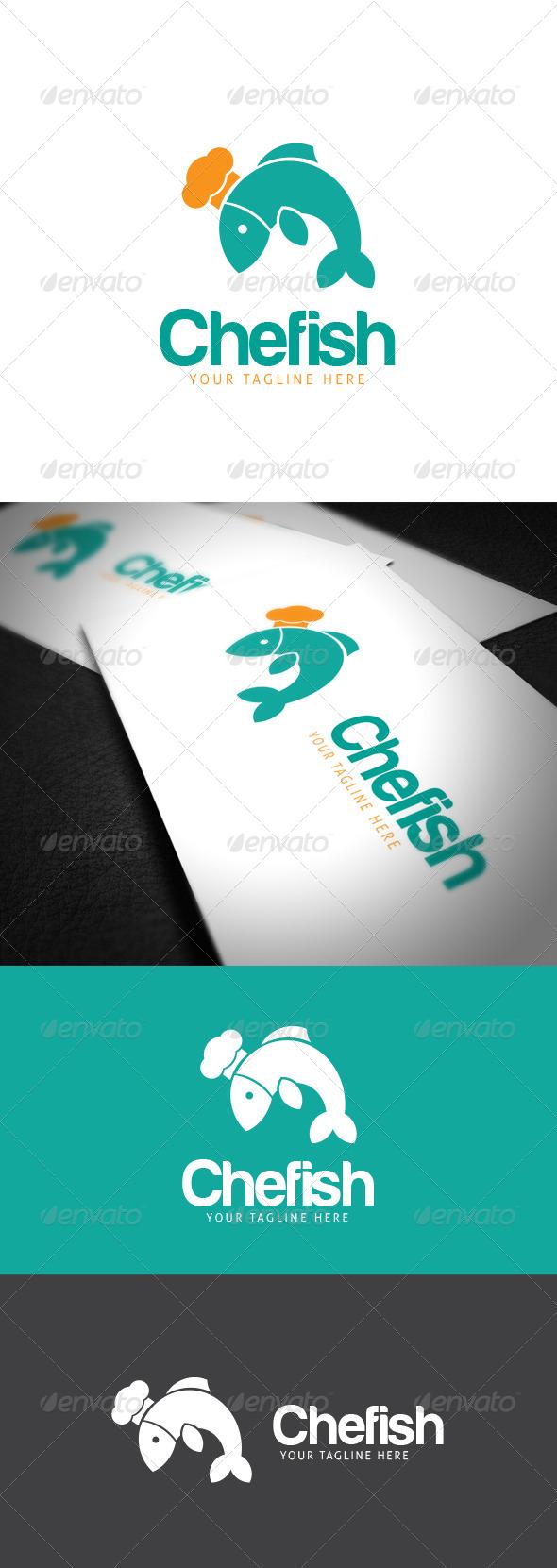 Chefish Logo Template