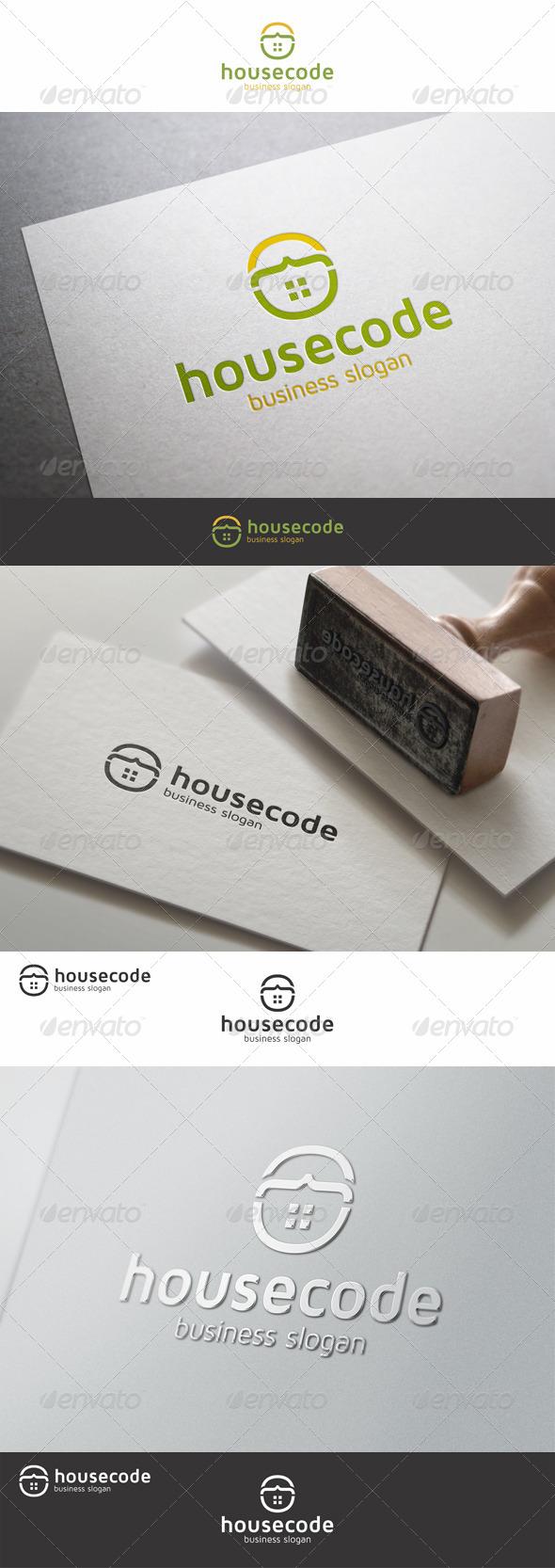 House Code Building Logo
