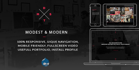 MDST - Modest & Modern Multipurpose Drupal Theme