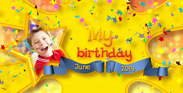Happy Birthday Video Effects & Stock Videos from VideoHive