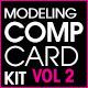 Model Comp Card Template Kit Vol. 2 - GraphicRiver Item for Sale