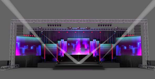 Stage Design Cg Textures 3d Models From 3docean