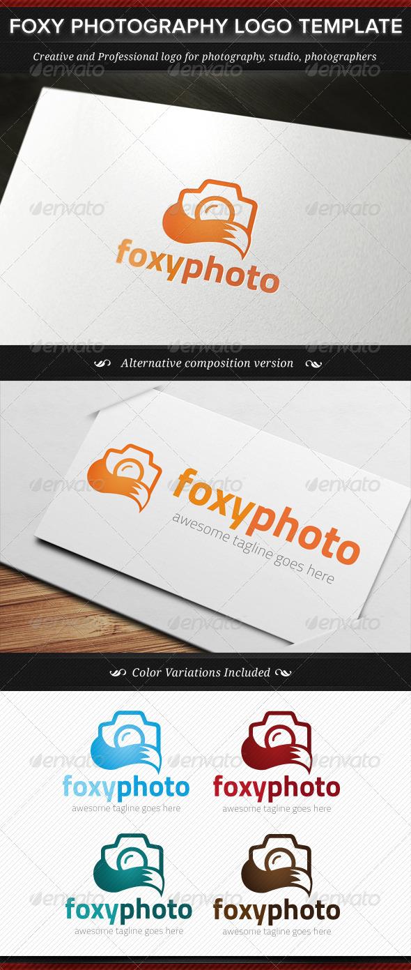 Foxy Photography Logo Template