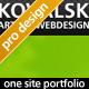Kovalsky - One site portfolio + multiple