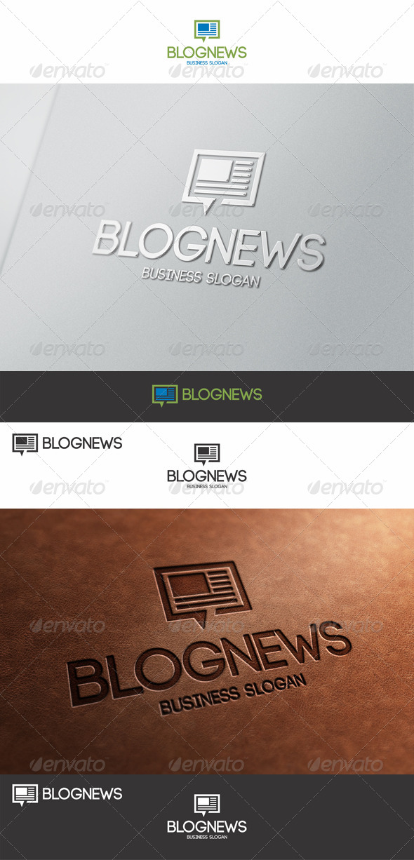 Blog News Talk Logo